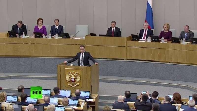 Медведев отчитывается в Госдуме за 6 лет работы правительства – прямая трансляция!