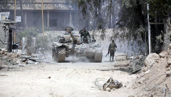 Россия вводит военную полицию в сирийский город Дума