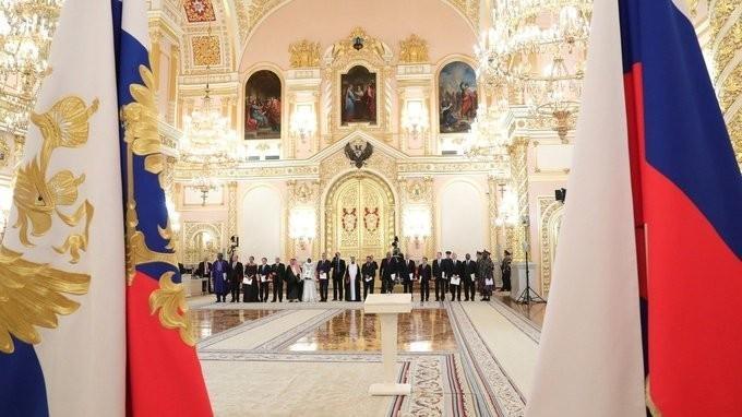 Владимир Путин принял верительные грамоты у послов ряда иностранных государств