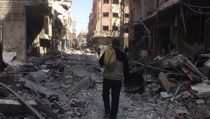 Сирия. Восточная Гута полностью перешла под контроль Башара Асада