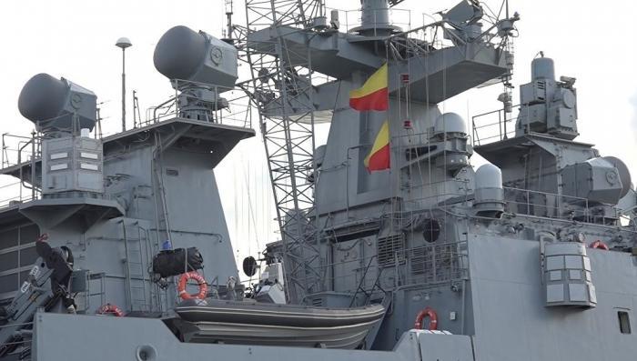 Спутники США зафиксировали выход русских кораблей с базы Тартус