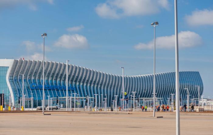 Крым. Новый терминал симферопольского аэропорта начнет работу 16 апреля