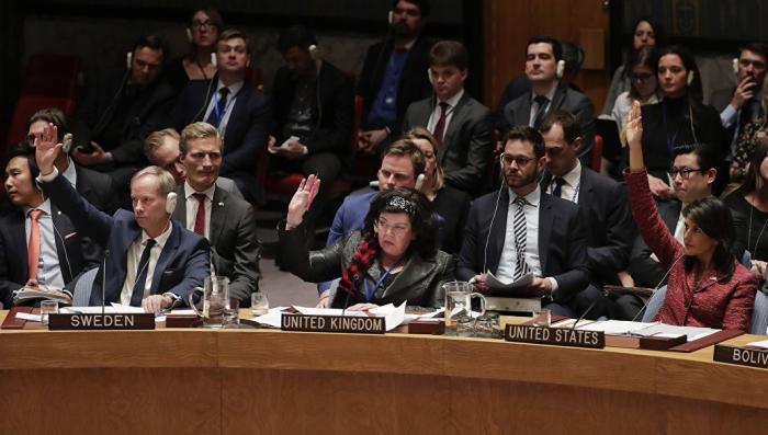 Мордатая английская тётка попыталась блеснуть интеллектом в ООН