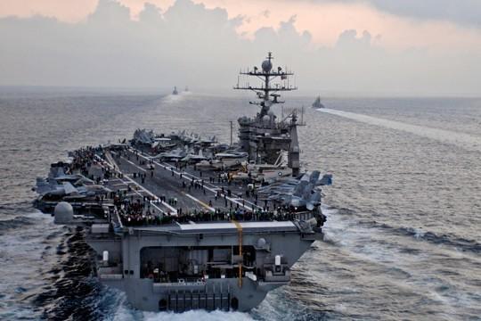 Есть ли у кораблей России в Сирии возможность уничтожить авианосец США
