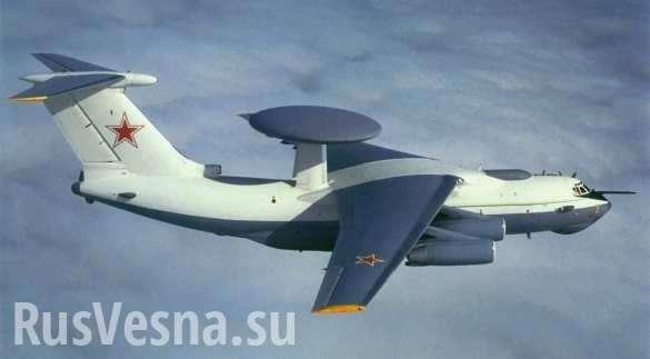 Иранские ВВС и русский летающий радар замечены в небе Сирии | Русская весна