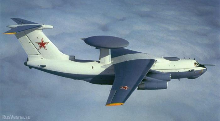 Иранские ВВС и русский летающий радар замечены в небе Сирии