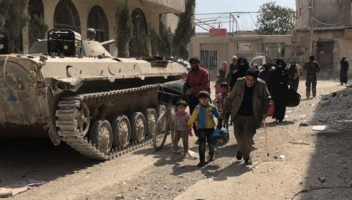 МИД России доказал, что химатака в сирийской Думе была постановкой