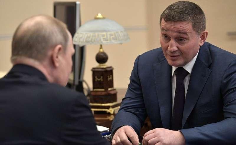 Сгубернатором Волгоградской области Андреем Бочаровым.