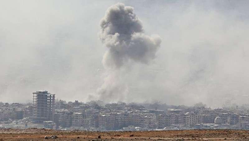 Министерство обороны рассказало, кто и как снимал ролик о «химатаке» в сирийской Думе