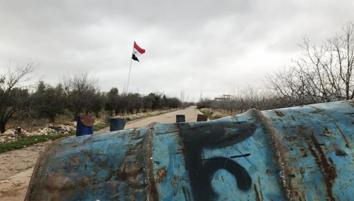 Сирия: найдена химическая лаборатория боевиков в Думе