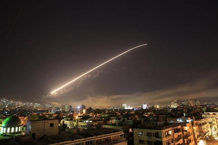 По Сирии паразиты выпустили более сотни ракет