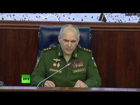 Эффективность ПВО. Брифинг Минобороны России по ракетному удару по Сирии