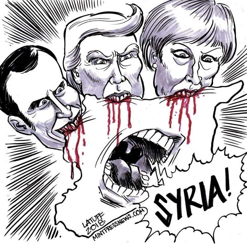 Заседание СБ ООН по Сирии. Обсуждают удары США и их сообщников. 14.04.2018