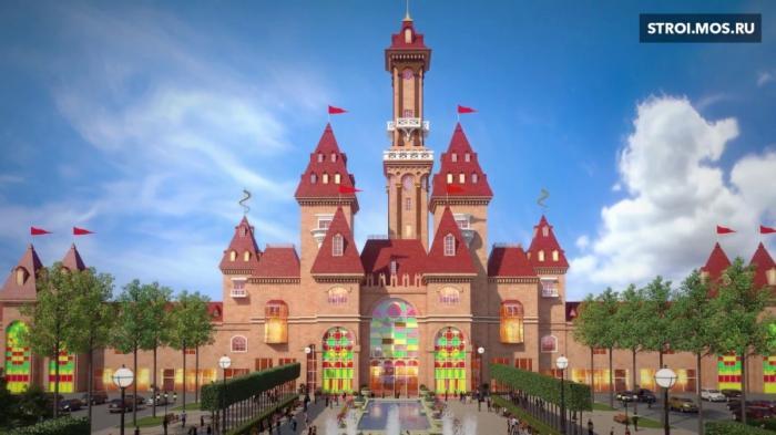 В Москве строится самый крупный в мире парк аттракционов «Остров мечты»