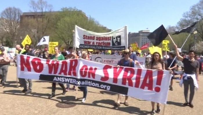 В США ракетный удар по Сирии назвали нарушением международного права