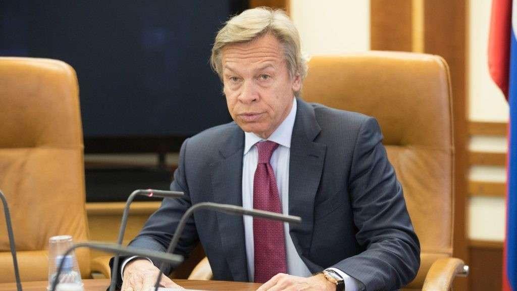 Алексей Пушков жёстко ответил на идиотский ультиматум пиндосов к Сирии