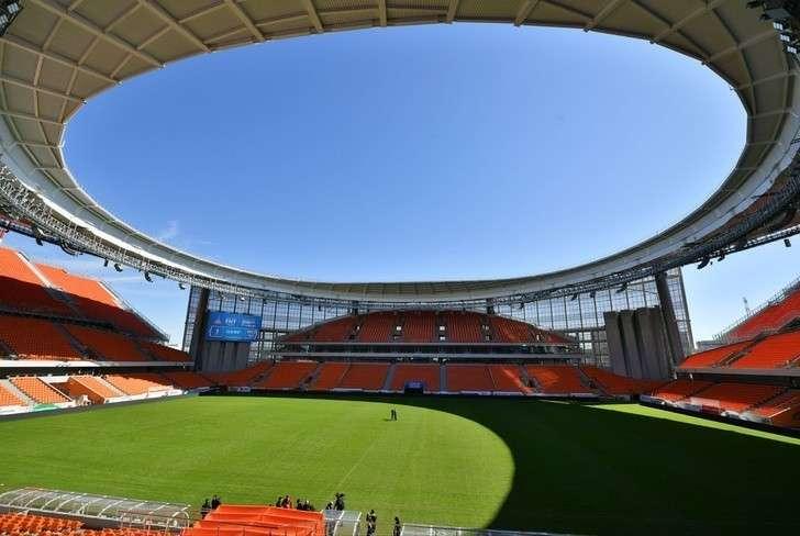 ВЕкатеринбурге открылся реконструированный кчемпионату мира футбольный стадион