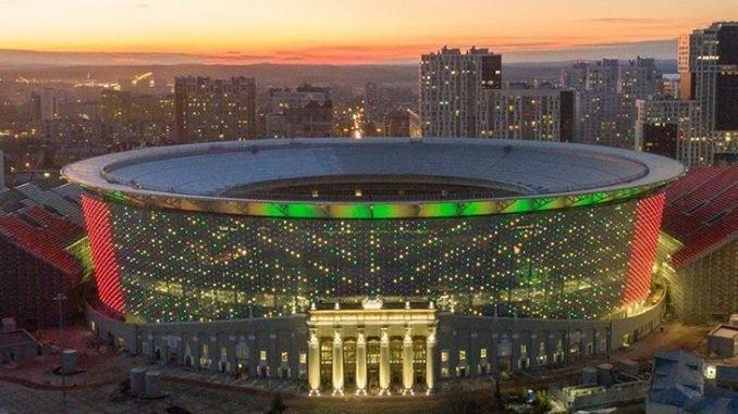 ВЕкатеринбурге открылся стадион после масштабной реконструкции кчемпионату мира 2018