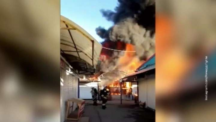 Кабардино-Балкария: в Нальчике выгорело более 3 тысяч квадратных метров