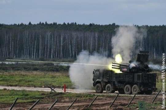 Русский Панцирь показал почти стопроцентную точность при отражении удара по Сирии
