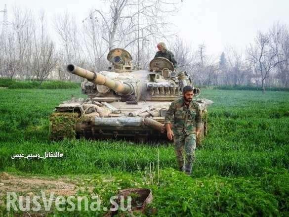 Россия и Генштаб Сирии готовят новый удар после зачистки Восточной Гуты | Русская весна