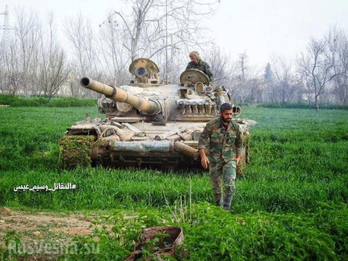 Россия и Генштаб Сирии готовят новый удар после зачистки Восточной Гуты