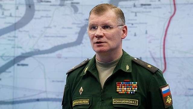 Министерство обороны дало статистику отражения ракетного удара США по Сирии