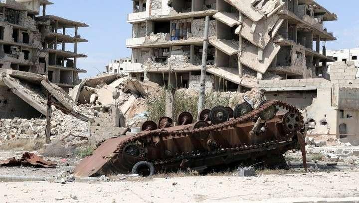 Американские наёмники производили химическое оружие в сирийской Думе