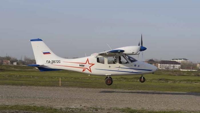 ВДагестане совершил первый полёт легкомоторный самолёт местного производства