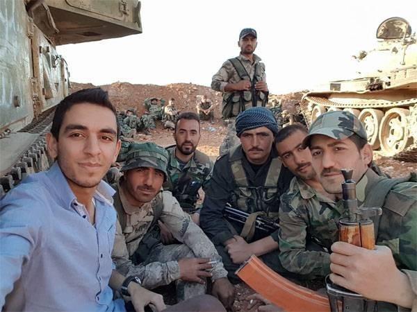 Сирия. Пошла «ответка»: мясорубка для американских наёмников на границе Хамы и Хомса