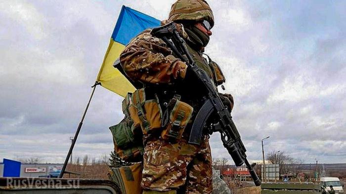 Каратели ВСУ массово крадут оружие и боеприпасы: «Это эпидемия какая-то!»