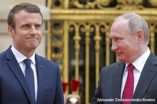 Подросток Макрон насмешил своим равнением на Владимира Путина