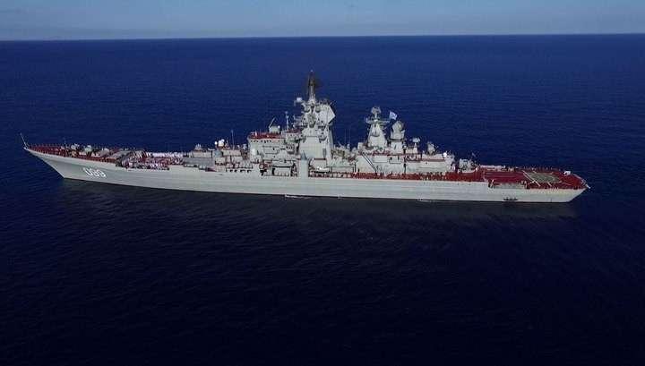Крупнейший в мире атомный крейсер отмечает юбилей