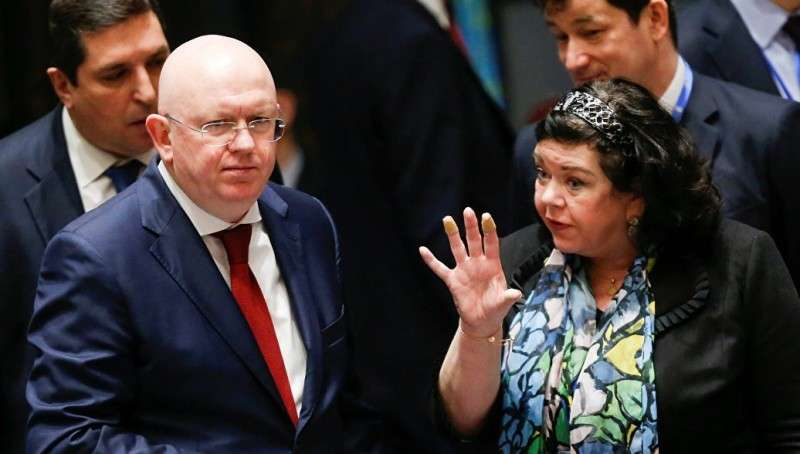 Дуэли в СБ ООН: Небензя громит британцев на дипломатическом и литературном фронте