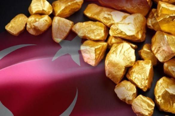 Турция вернула себе свой золотой запас, ранее находившийся в ФРС США