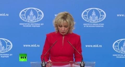 Мария Захарова провела еженедельный брифинг МИД России 19.04.2018