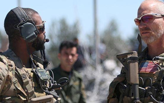 В Сирии США открывают новую военную базу в бывшем опорном пункте своих наёмников из ИГИЛ
