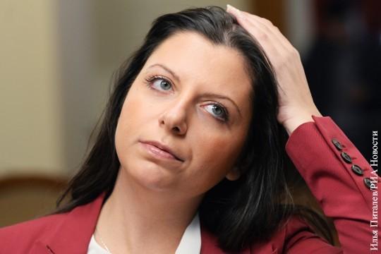 Очень хорошо, что главному редактору RT Маргарите Симоньян стыдно