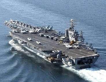Китай впервые применил средства РЭБ против авианосной ударной группировки США