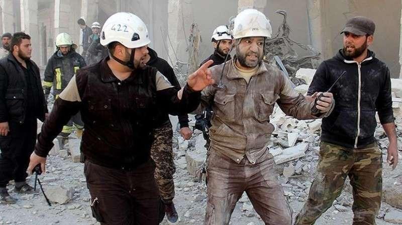Американские «Белые кастрюли» убивают сирийских детей для телекартинки