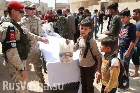 Русская армия прибыла в освобождённый от «Аль-Каиды» город Кумхана
