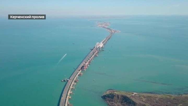 Крымский мост будет общаться с водителями и умно противостоять непогоде