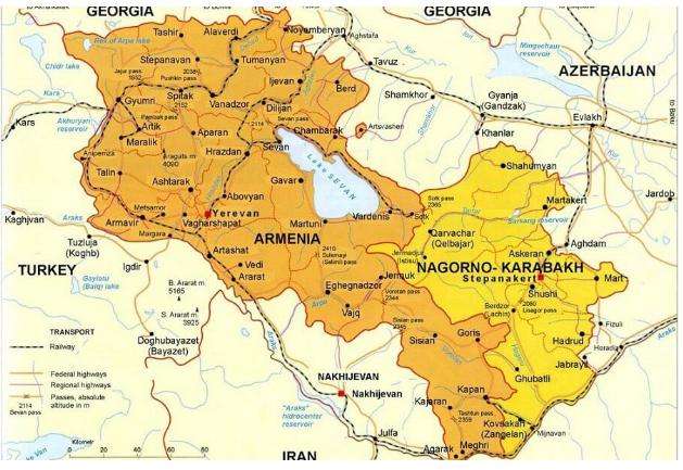В Армении 2500 дипломатов США совершают цветную революцию