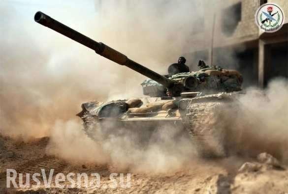 Огненный Ад в «заповеднике смерти» ИГИЛ: ВКС России и «Тигры» уничтожают наёмников США | Русская весна