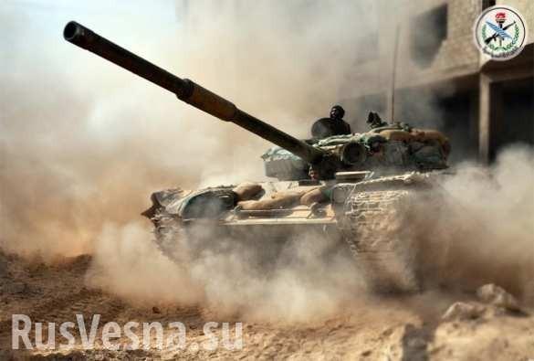 Огненный Ад в «заповеднике смерти» ИГИЛ: ВКС России и «Тигры» уничтожают наёмников США