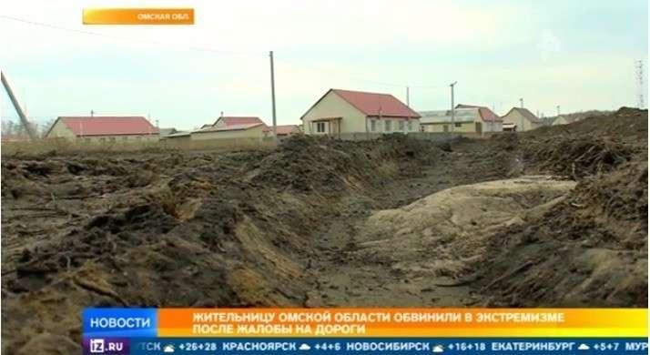Жительнице Омской области, обвиненной в экстремизме за пост о плохих дорогах, грозит срок