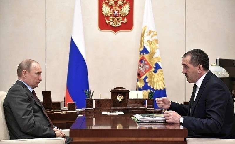 Сглавой Республики Ингушетия Юнус-Беком Евкуровым.