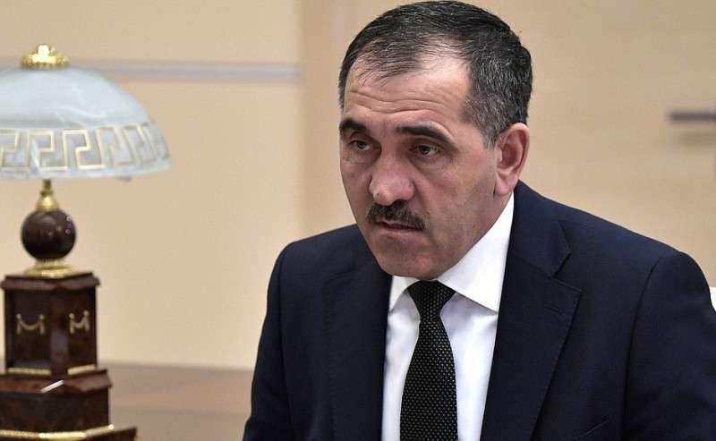 Глава Республики Ингушетия Юнус-Бек Евкуров.