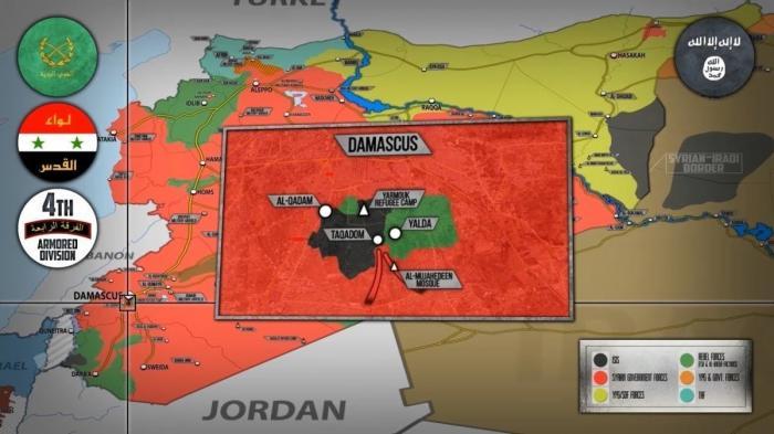 Сирия. Крупные операции против ИГИЛ – наёмники США разгромлены но не уничтожены