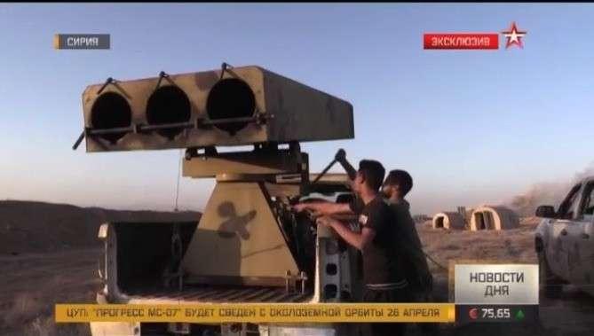 Сирия: атака на последний оплот ИГИЛ в пригородах Дамаска: эксклюзивный репортаж